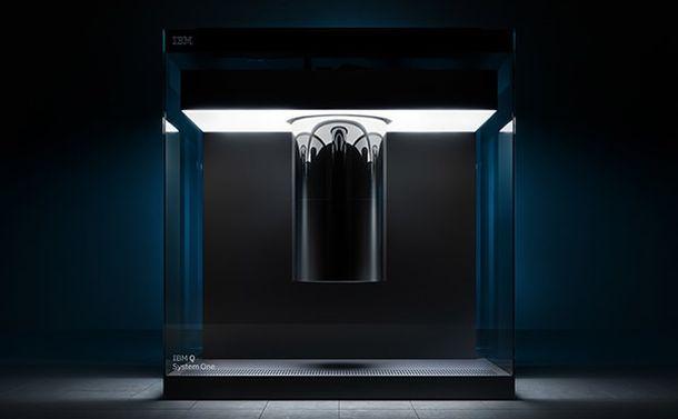写真・図版 : IBMの量子コンピュータ=同社提供