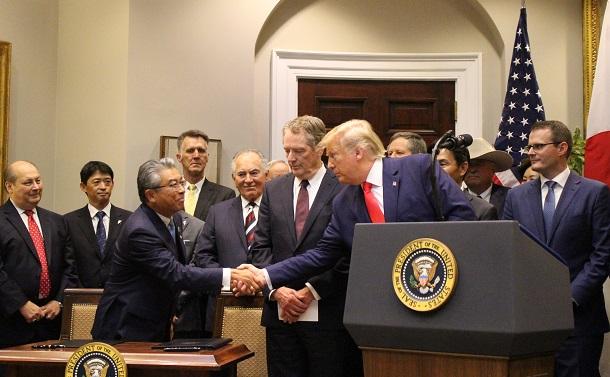 アメリカに押し切られたデジタル貿易協定