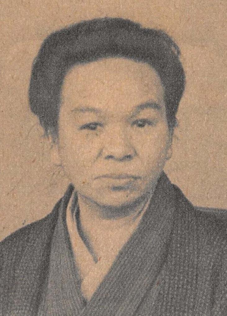 写真・図版 : 竹中繁子=1929年(昭和4)5月の社員写真帳から