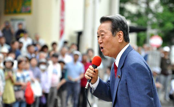 小沢一郎「もう一回舞台を回さないといけない」
