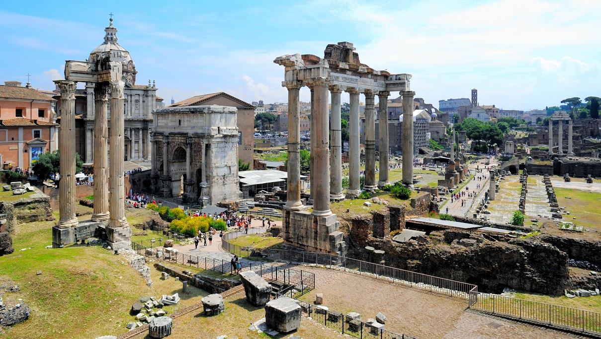 ローマのフォロ・ロマーノ