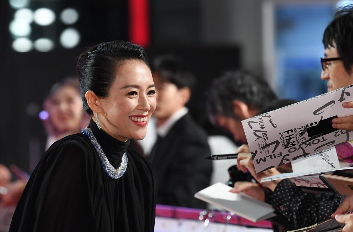 写真・図版 : コンペティション部門で審査委員長を務めた中国の女優チャン・ツィイー