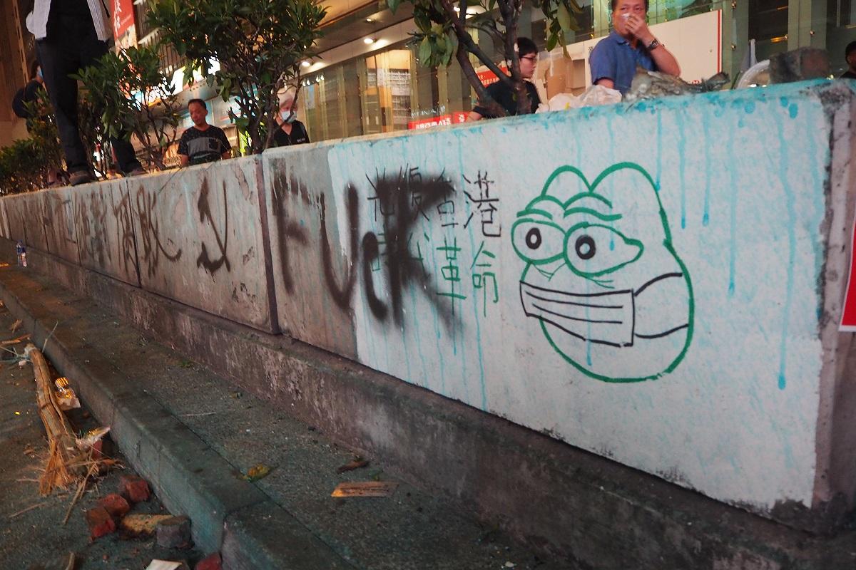 写真・図版 : オルタナ右翼の象徴ともなったキャラクター「カエルのペペ」