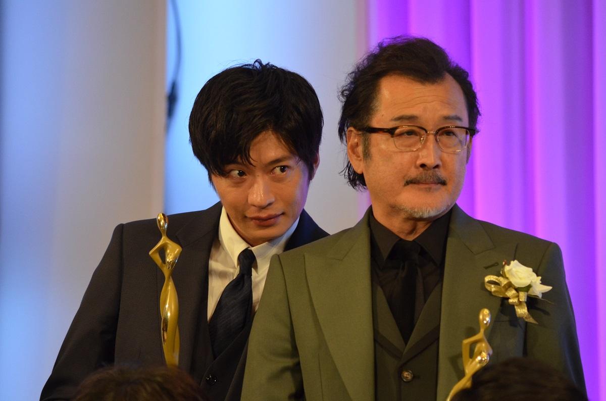 写真・図版 : 前作『おっさんずラブ』は東京ドラマアウォード2018の連続ドラマ部門グランプリ、吉田鋼太郎が主演男優賞、田中圭が同助演男優賞をそれぞれ獲得した=2018年10月25日