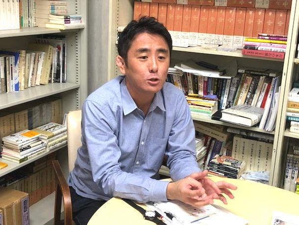 写真・図版 : 中島岳志・東京工業大学リベラルアーツ研究教育院教授