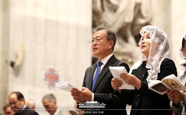 金大中も盧武鉉も文在寅もカトリック信者!