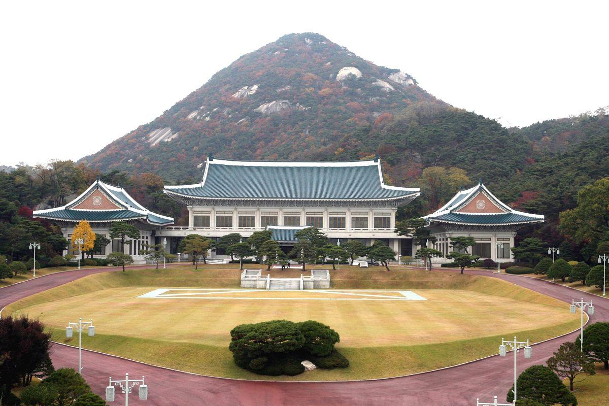 写真・図版 : 韓国大統領府=東亜日報提供