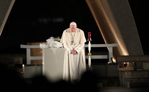 「個人的」原発批判、福島が教皇を動かした
