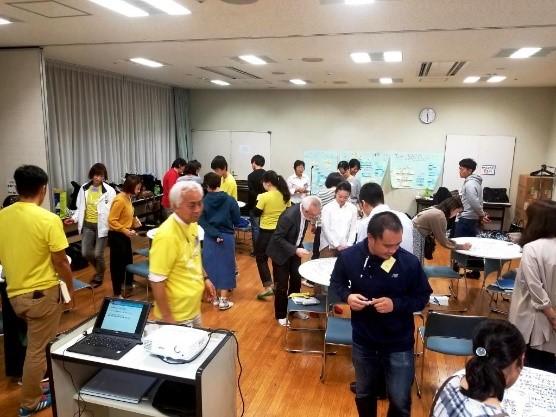 写真・図版 : 横浜市学校レクセミナー(YSRS)。ふらっとタイムは共有時間