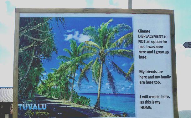 「温暖化で沈む国」ツバルの現実
