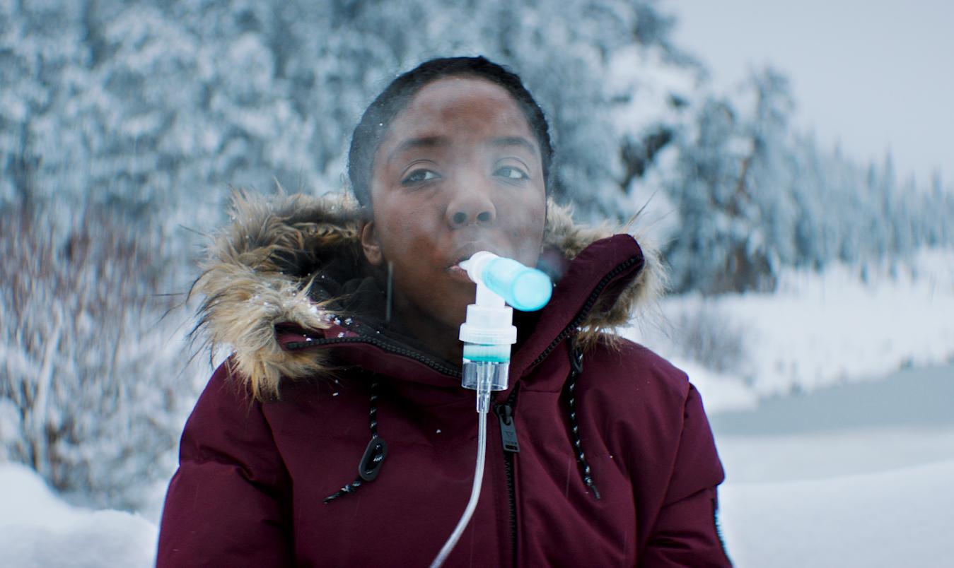 写真・図版 : 映画「気候戦士~クライメート・ウォーリアーズ~」の一場面