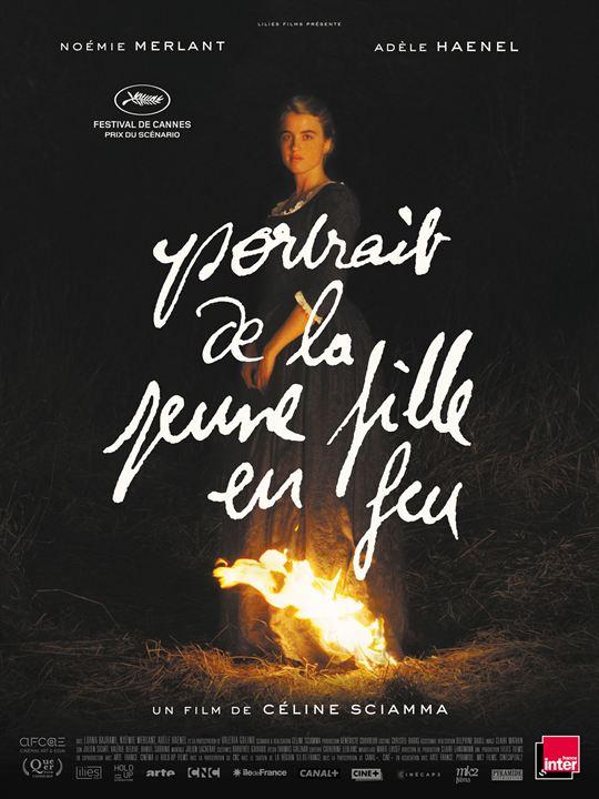 写真・図版 : アデル・エネル主演、セリーヌ・シアマ監督の話題作『炎の貴婦人の肖像』のフランス版ポスター