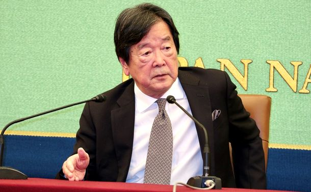 写真・図版 : 田中均・国際戦略研究所理事長(撮影・佐藤由香里)