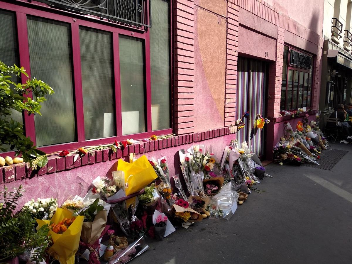 パリ14区ダゲール通り86番地。ヴァルダの自宅&映画会社シネタマリス