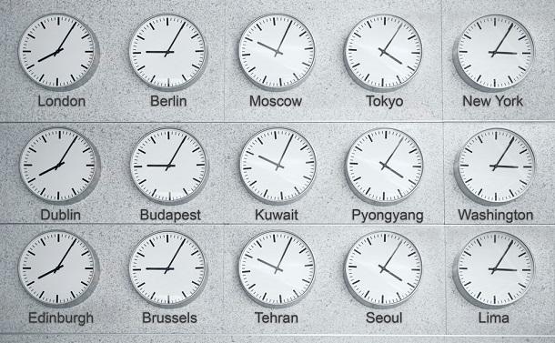 国家と時間 協定世界時(UTC)を導入せよ