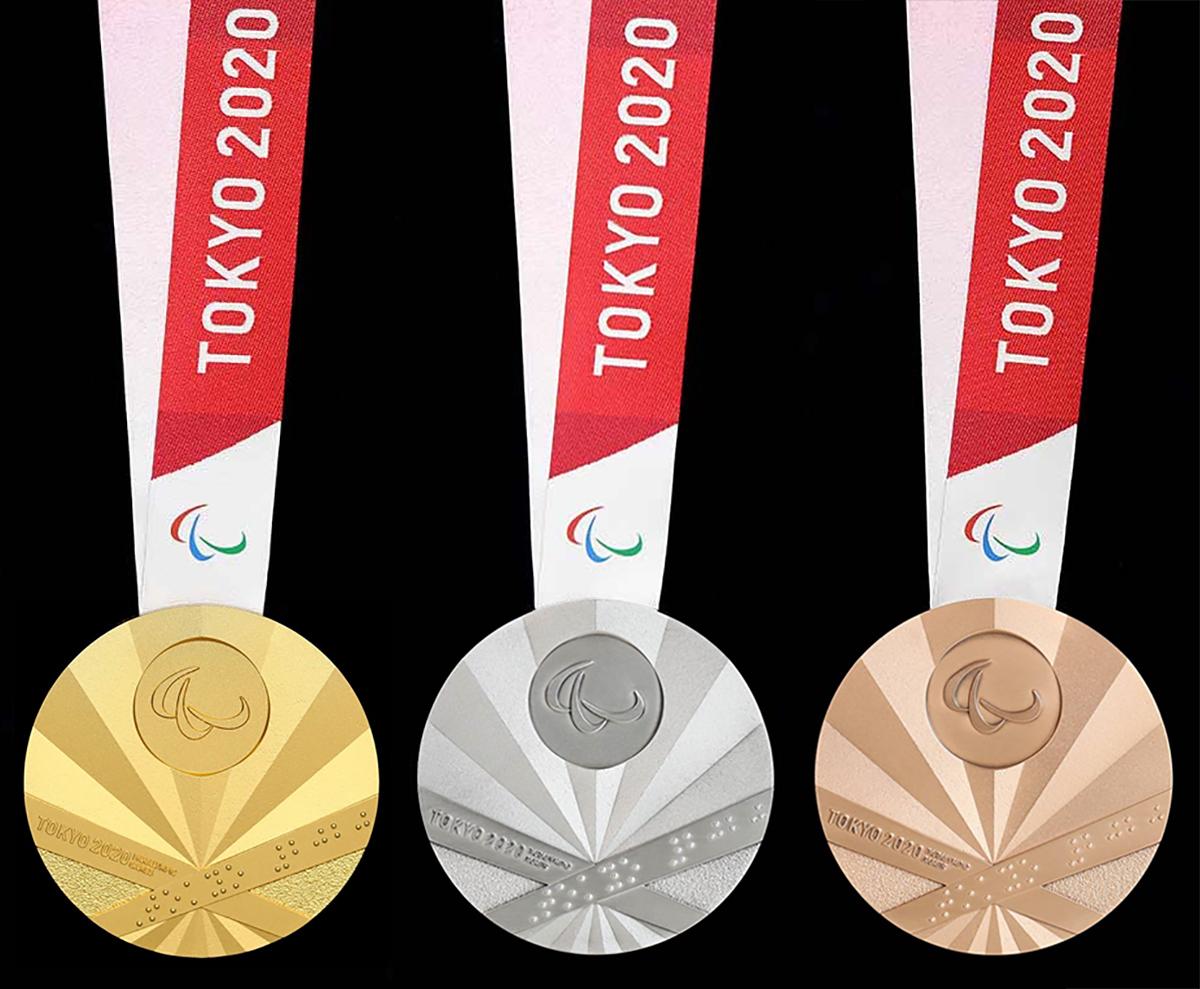 写真・図版 : 東京2020パラリンピックのメダルデザイン