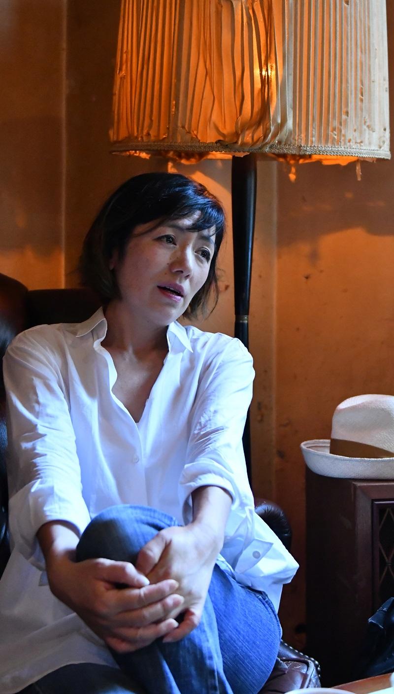 写真・図版 : 「上々颱風」のボーカル・白崎映美さん