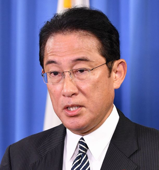 写真・図版 : 自民党の岸田文雄政調会長=2019年9月11日