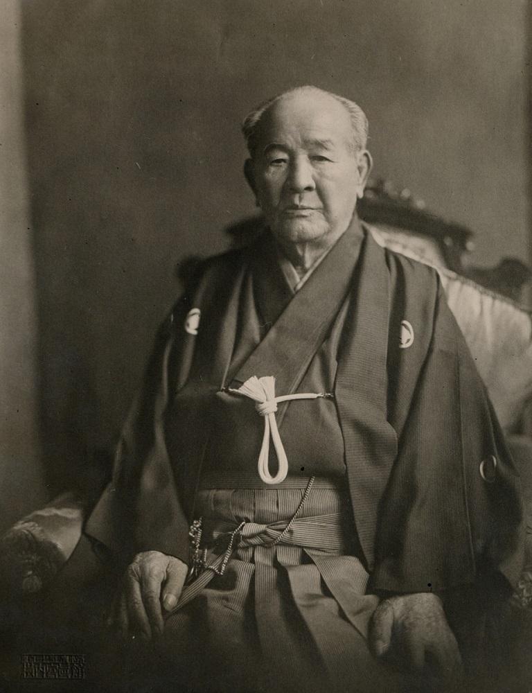 写真・図版 : 91歳で亡くなる直前の渋沢栄一=1931年10月