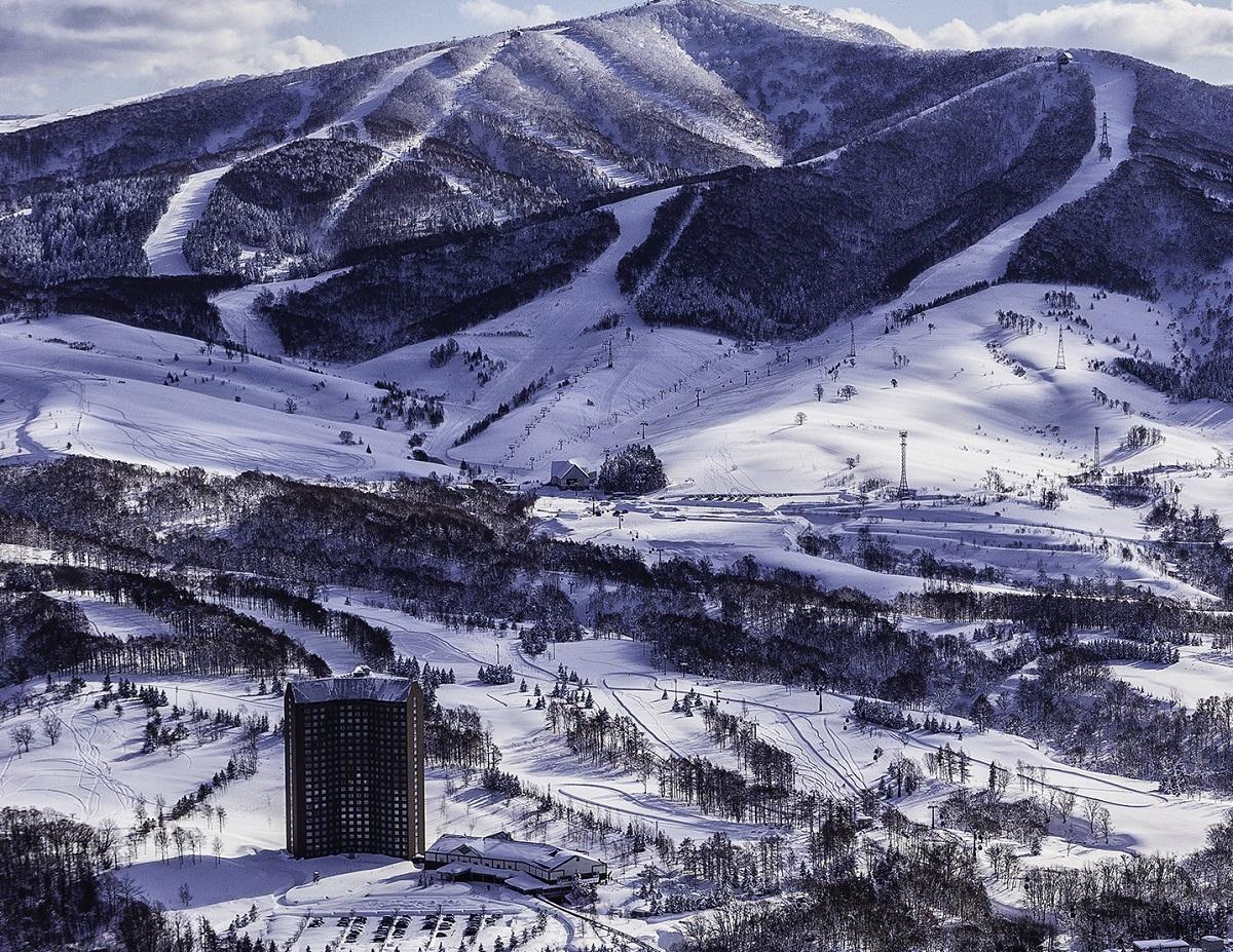 ルスツリゾートは、小さなスキー場約100カ所分の広さ=留寿都村、ルスツリゾート提供