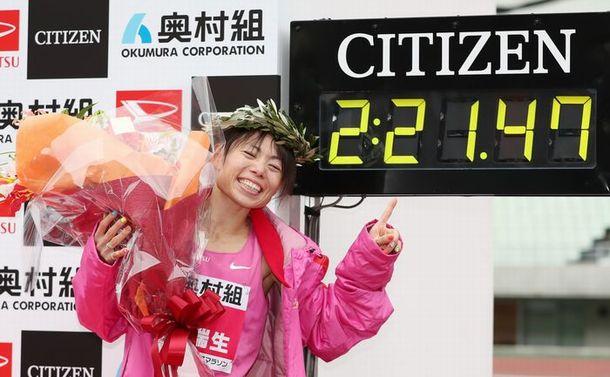 女子マラソン五輪代表に大前進した松田瑞生