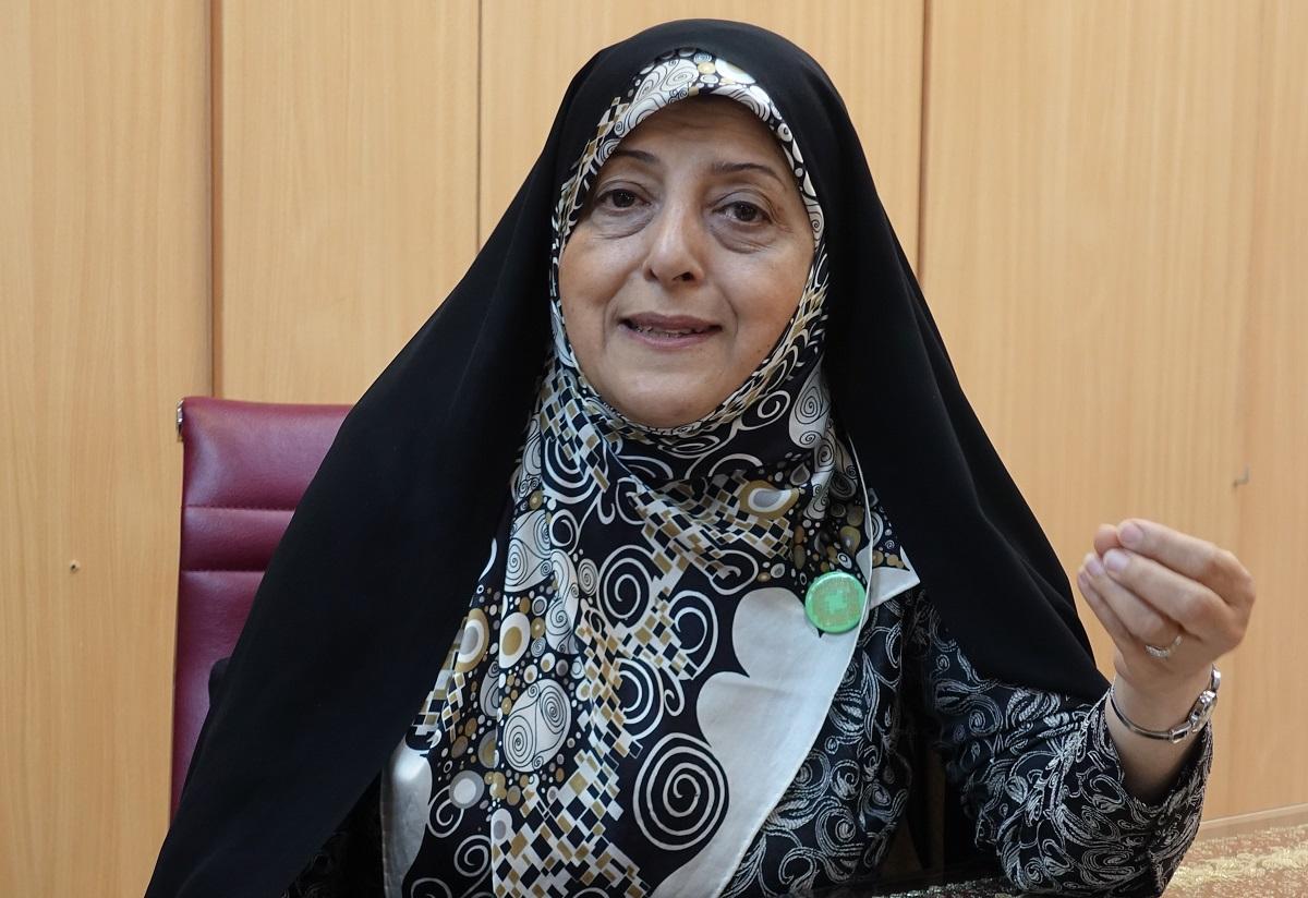 写真・図版 : イランのマスメ・エブテカール副大統領