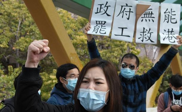 新型コロナウイルス防疫も政治化する香港