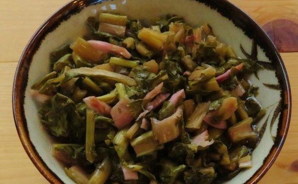 写真・図版 : 木曽地方に伝わる保存食の「すんき」