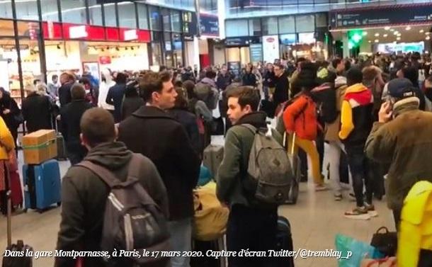 新型コロナでパリ首都圏から120万人が大移動、ウイルスと差別も拡散