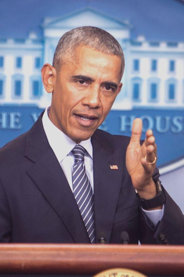 写真・図版 : オバマ前大統領