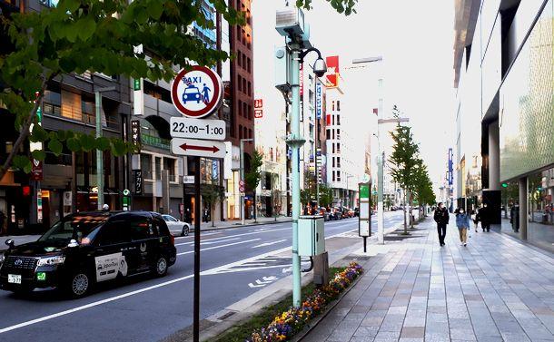 写真・図版 : 東京・銀座6丁目、2020年4月14日