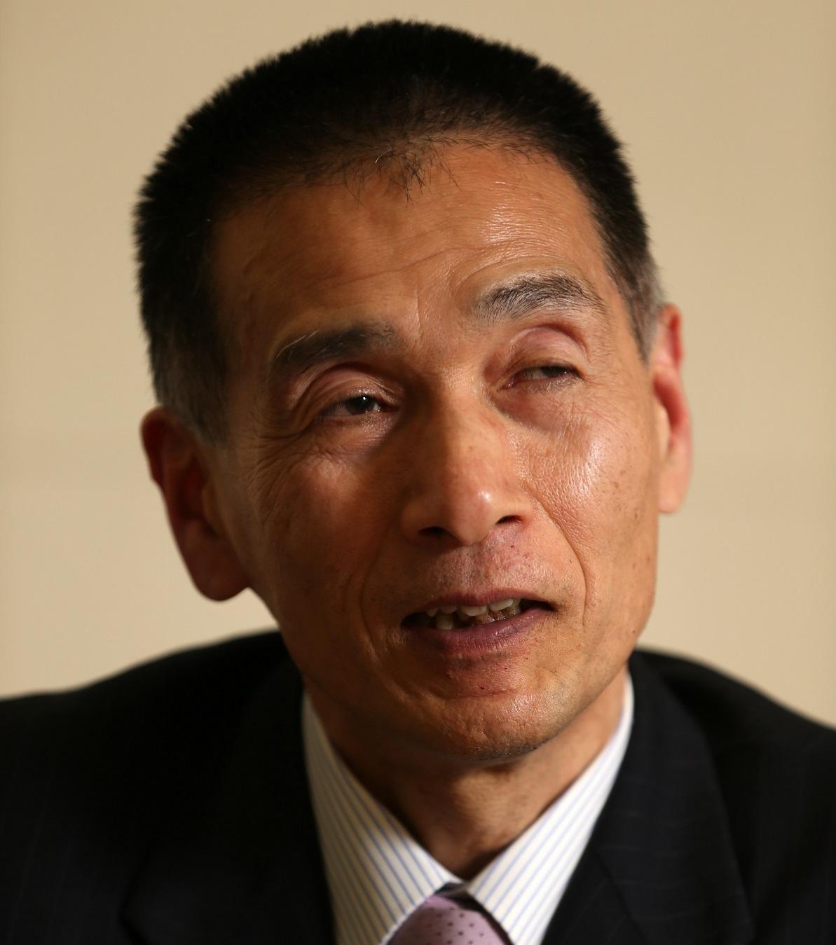 写真・図版 : 元公安調査庁第2部長の坂井隆さん