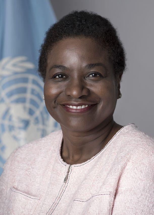 写真・図版 : ナタリア・カネム国連事務次長 兼 UNFPA事務局長
