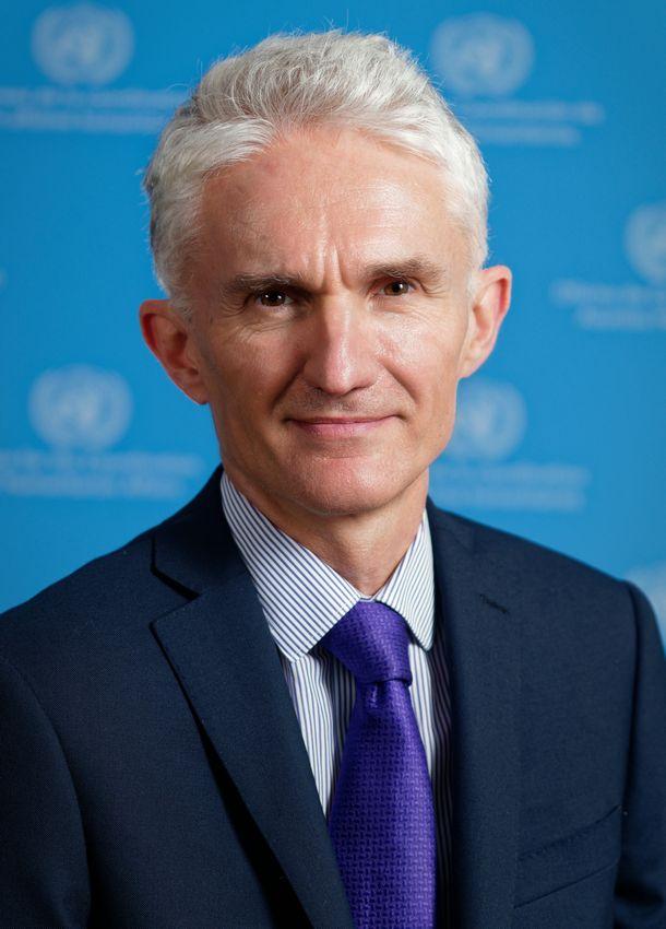 写真・図版 : マーク・ローコック人道問題担当国連事務次長 兼 緊急援助調整官