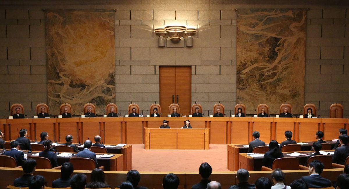 写真・図版 : 最高裁判所の大法廷=東京都千代田区隼町