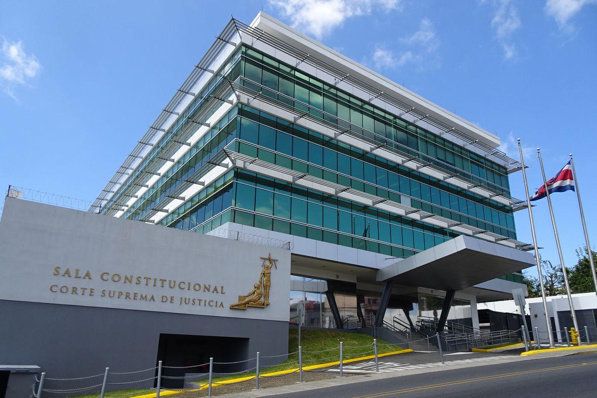 写真・図版 : コスタリカの憲法裁判所=2019年1月26日、筆者撮影