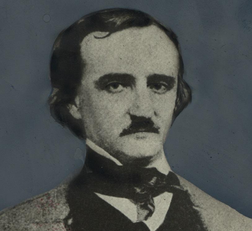 写真・図版 : エドガー・アラン・ポー(1809―1849)