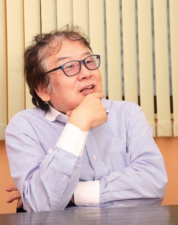 写真・図版 : 上野誠さん(撮影・花井智子)