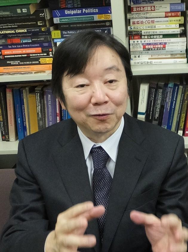写真・図版 : 神谷万丈・防衛大総合安全保障研究科教授