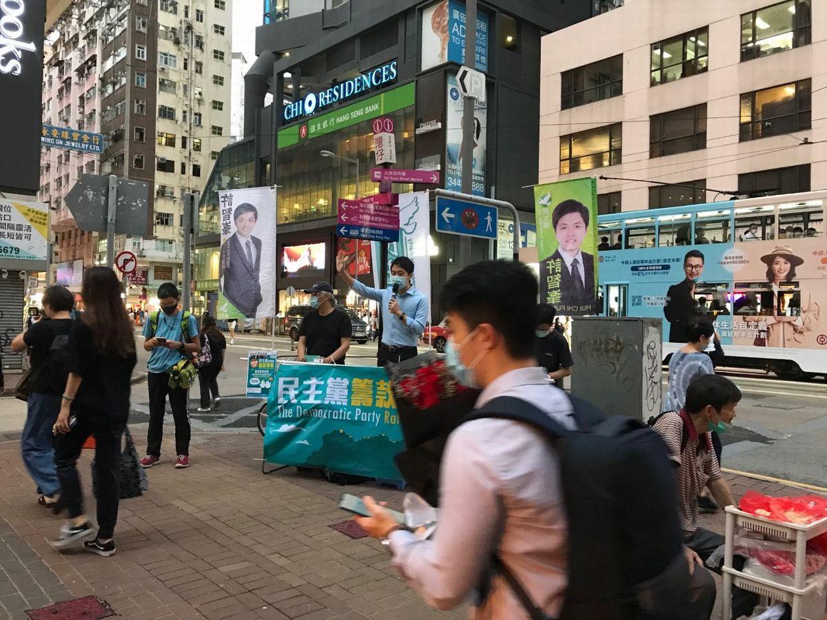 写真・図版 : 街頭演説も始まり政治の季節へ