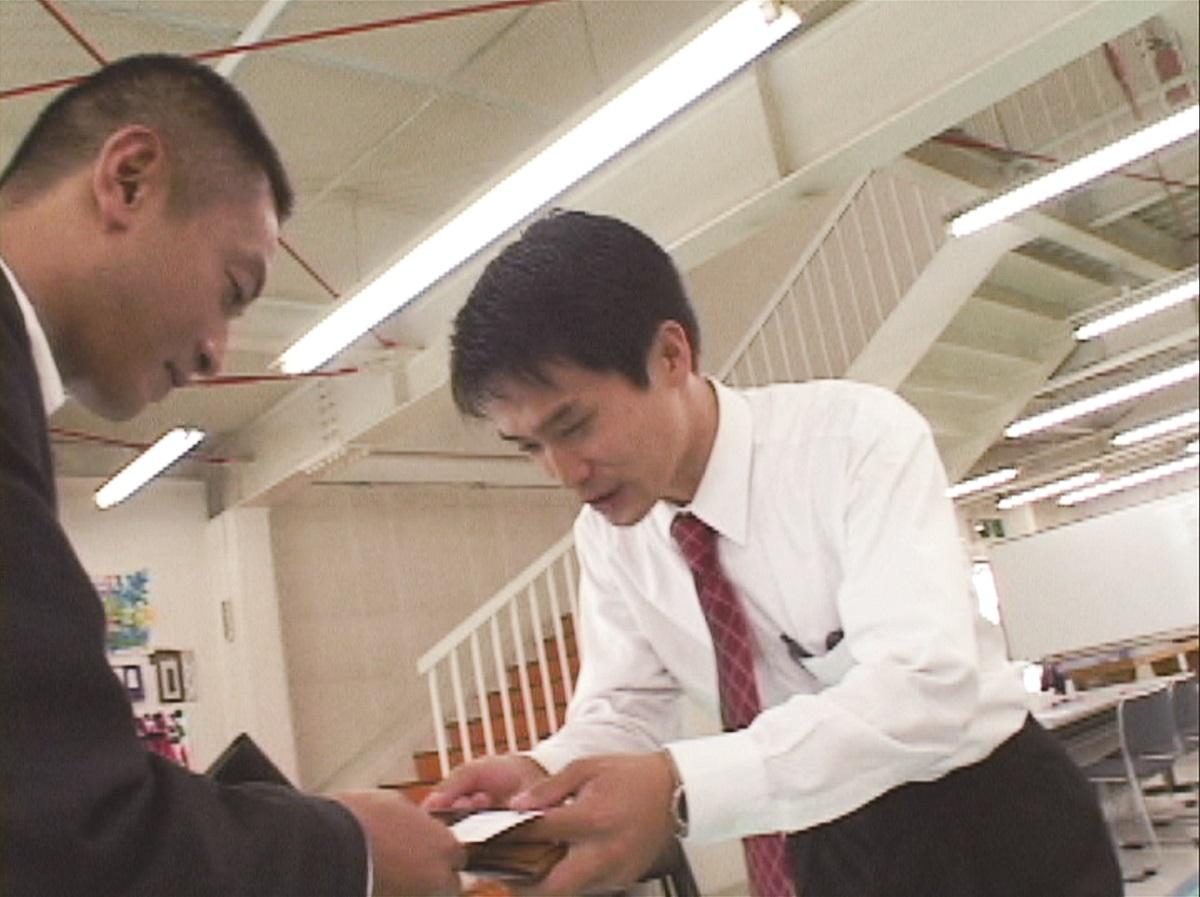 写真・図版 : 2003年 小川と初めて会う