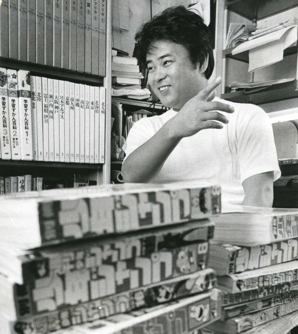 『はだしのゲン』を「週刊少年ジャンプ」で連載していたころの中沢啓治さん