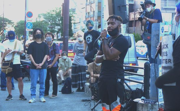 差別の歴史が交差する街で Black Lives Matter の声をあげる
