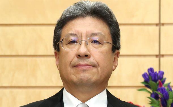 写真・図版 : 今井尚哉・首相補佐官