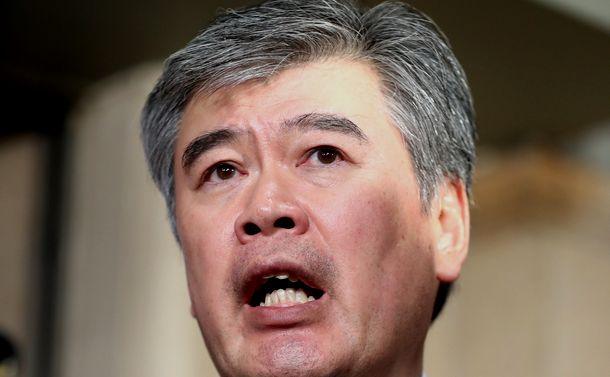 写真・図版 : 福田淳一・前財務事務次官