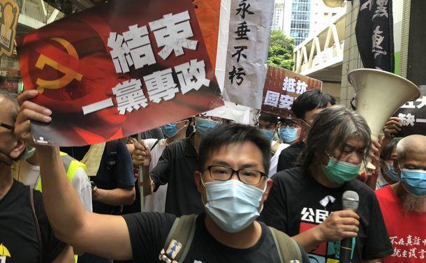 香港国家安全維持法、怖いけれど、声をあげるしかない