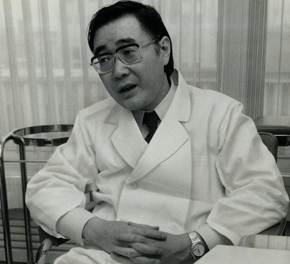 写真・図版 : 精神科医・小此木啓吾=1978年