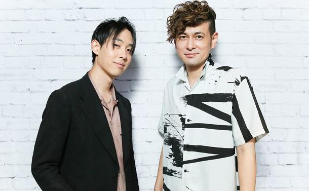 写真・図版 : 川島ケイジ(右)とエリック・フクサキ=宮川舞子 撮影