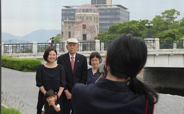 被爆3世を撮る(1)戦後75年の夏、広島で