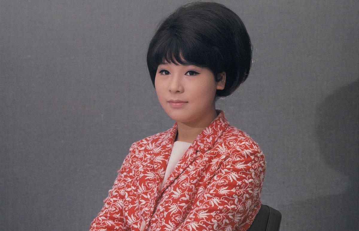 写真・図版 : 弘田三枝子、18歳の時=1965年